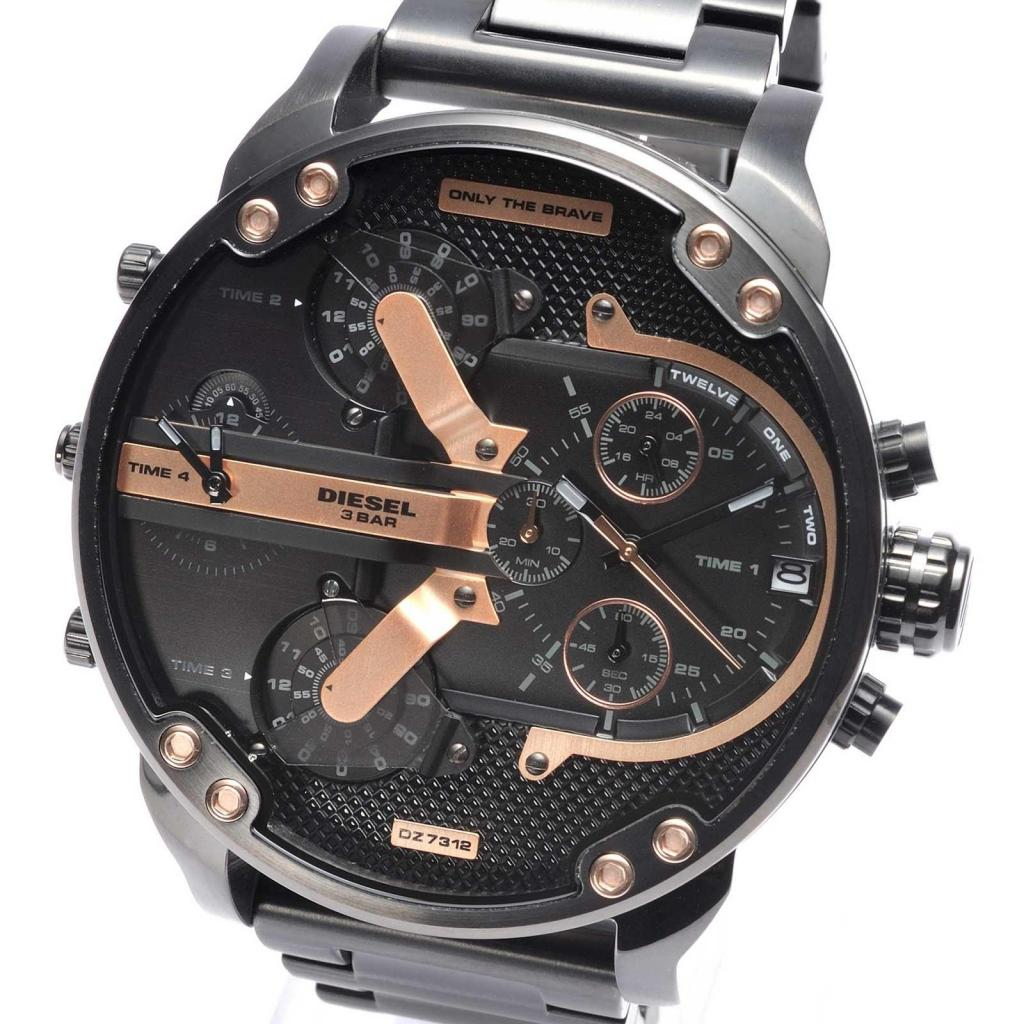 Reloj Hombre Diesel Dz NEGRO 100 Original