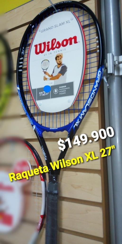 RAQUETA DE TENIS WILSON SEMI PRO XL 27 PULGADAS
