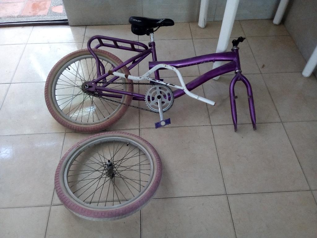 Se Vende Bicicleta para Repuesto.