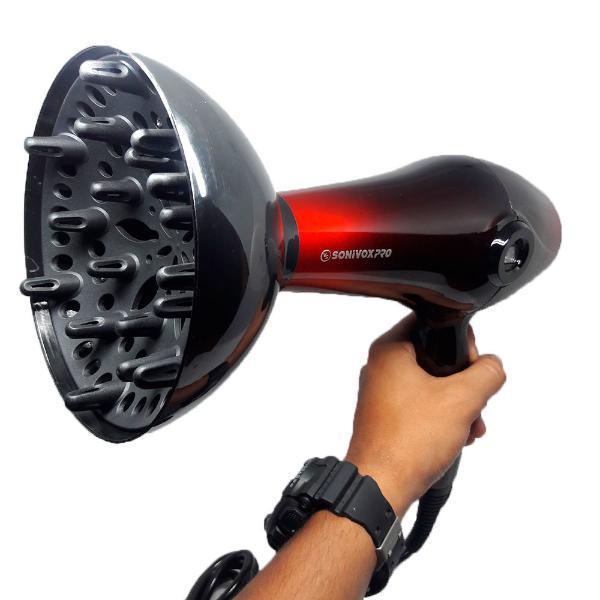 Secador Sonivox Digital 2 Velocidades Difusor Y Concentrador