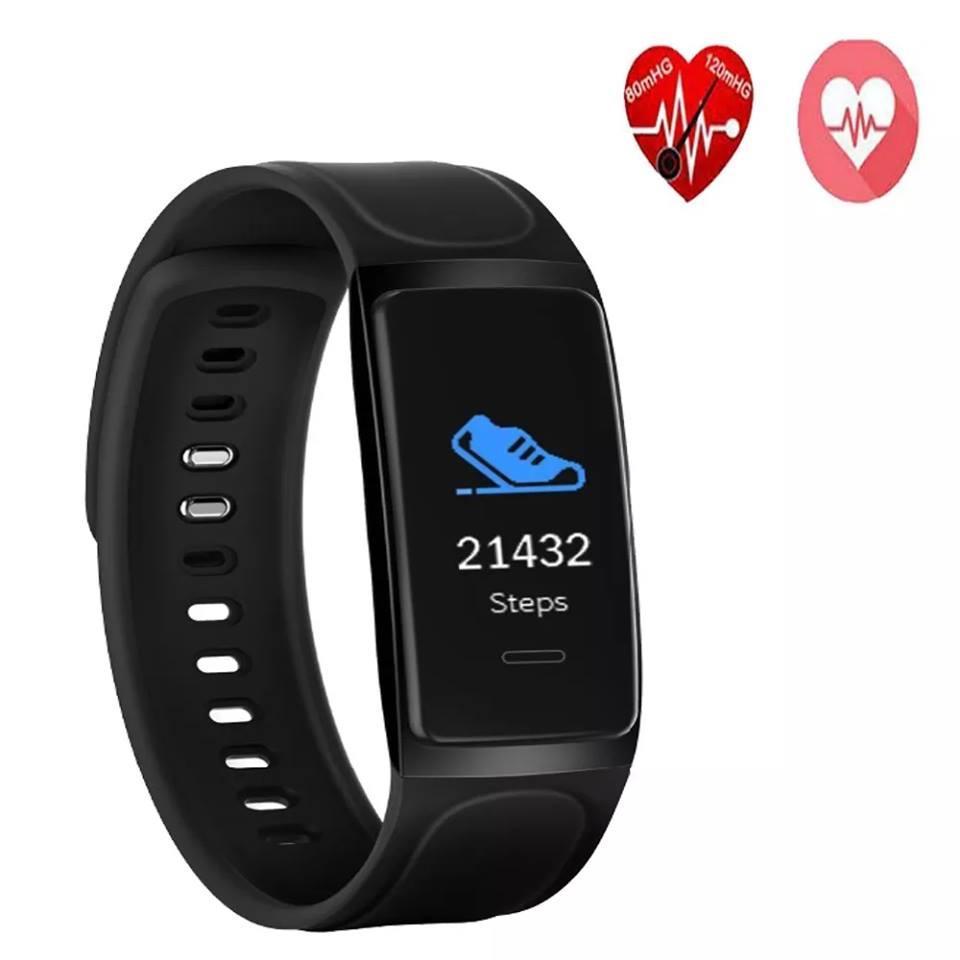 reloj pulsera Fitband Táctil Sensor Cardiáco Presión