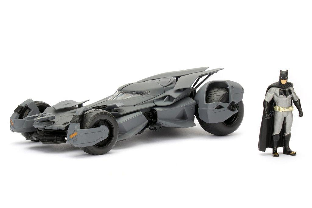 Carro Batimovil Muñeco Batman vs Superman Jada Escala 1/24