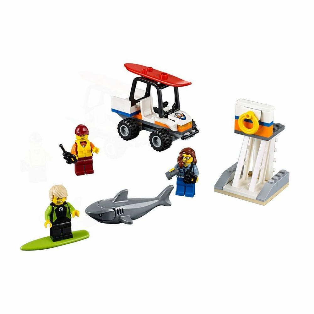 Lego City Set de Introducción Guardacostas Original