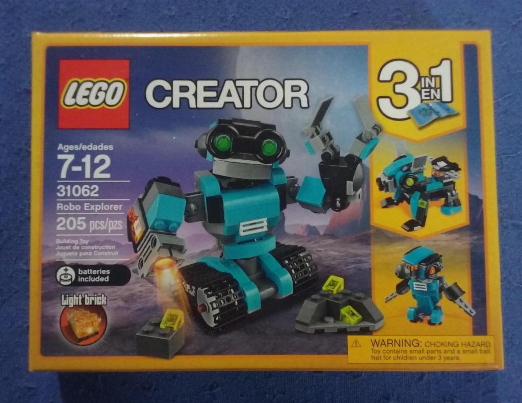 Lego Creator 3 en 1. Robot Perro Ave. Nuevo sellado.