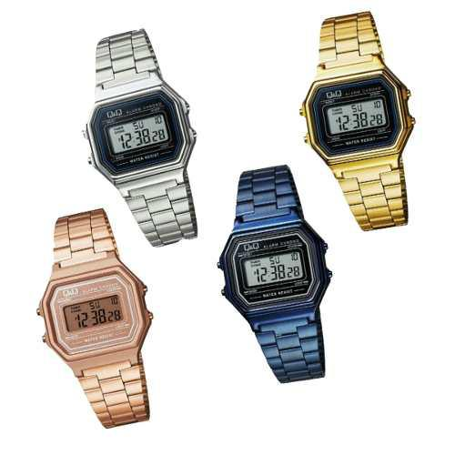 Reloj Q&q Retro M173j006y,001y,003y,007y Mujer Envio Gratis