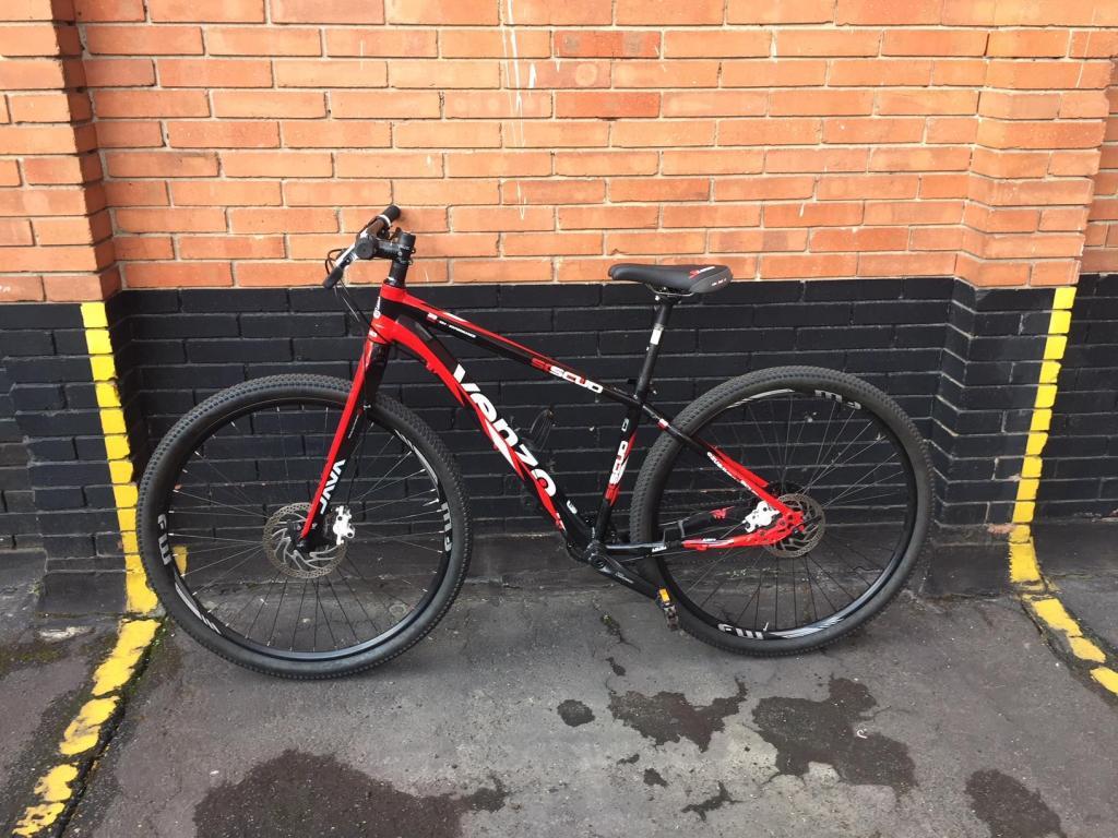 Bicicleta Monoplato Mtb Suspensión y partes en Carbono