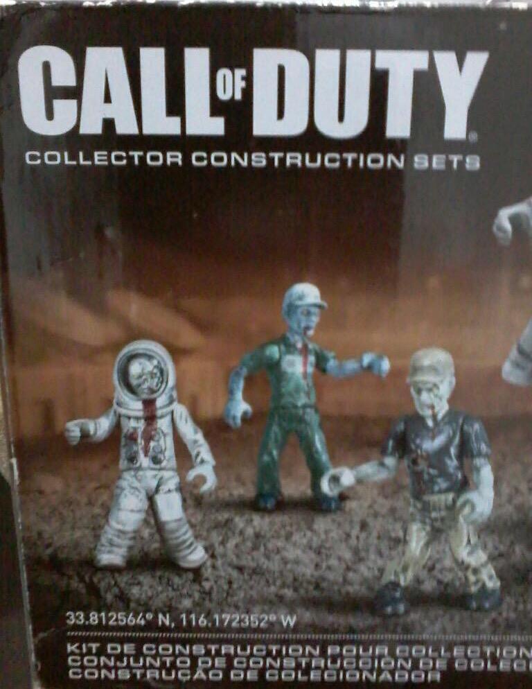 Call Of Duty Set de Coleccion Zombies