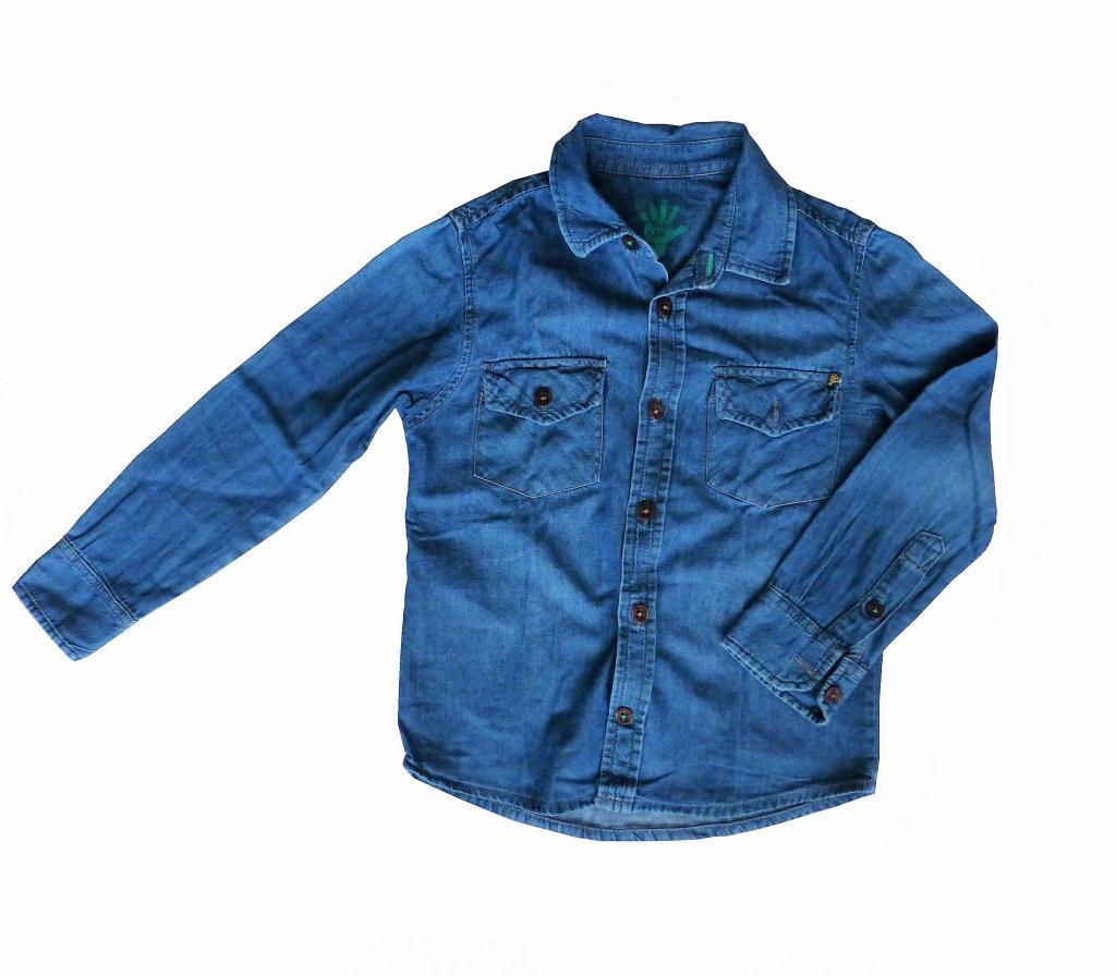 Camisa Jean Soye Kids Niño, Talla 2