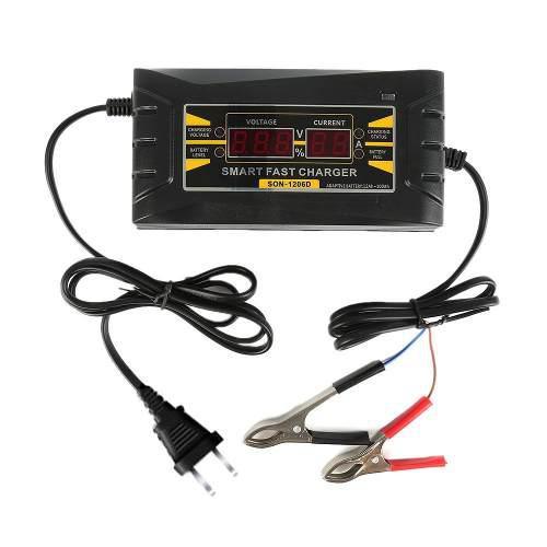 Cargador Automatico Baterias De Carro 12v 6a - Calidad 100%