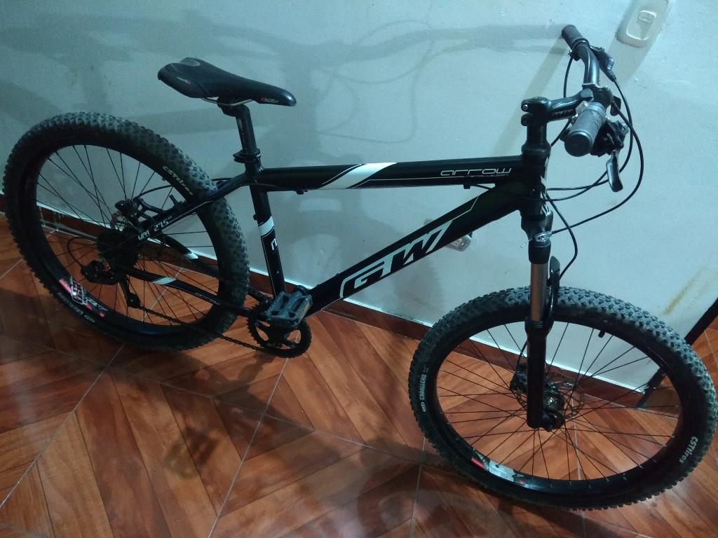 Gangazo Bicicleta Gw Arrow Frenos Hidráu