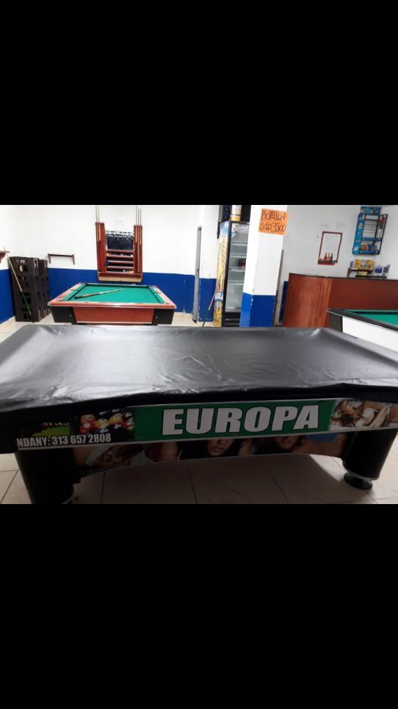 Vendo Forros para Mesas de Pool