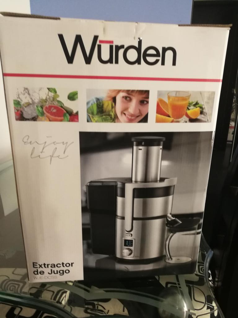 Extractor de jugo Wurden