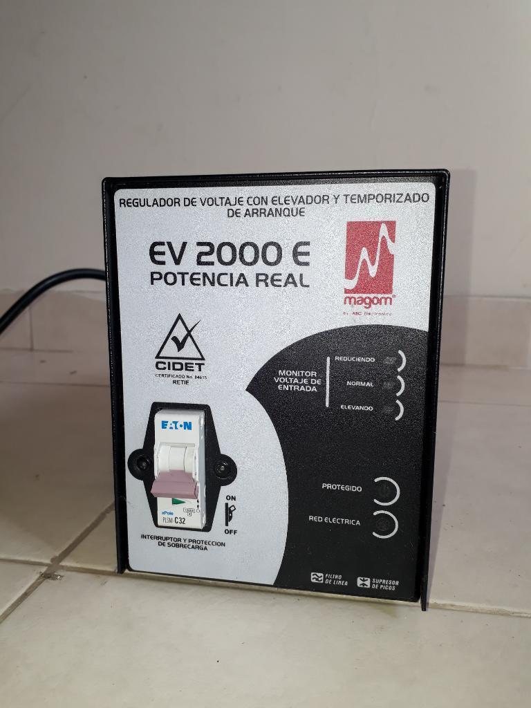 Regulador Electrico Magom Eve