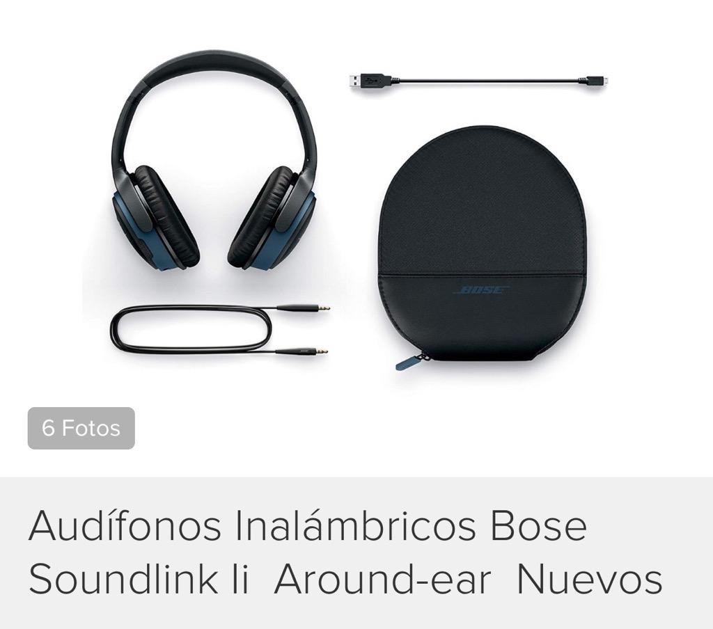 Audífonos Inalámbricos Bosé Soundlink Li Around Ear