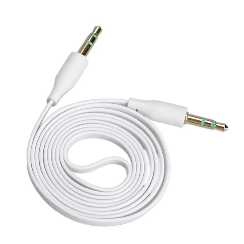 Cable auxiliar para audio 1 a 1 stereo Plug reforzado