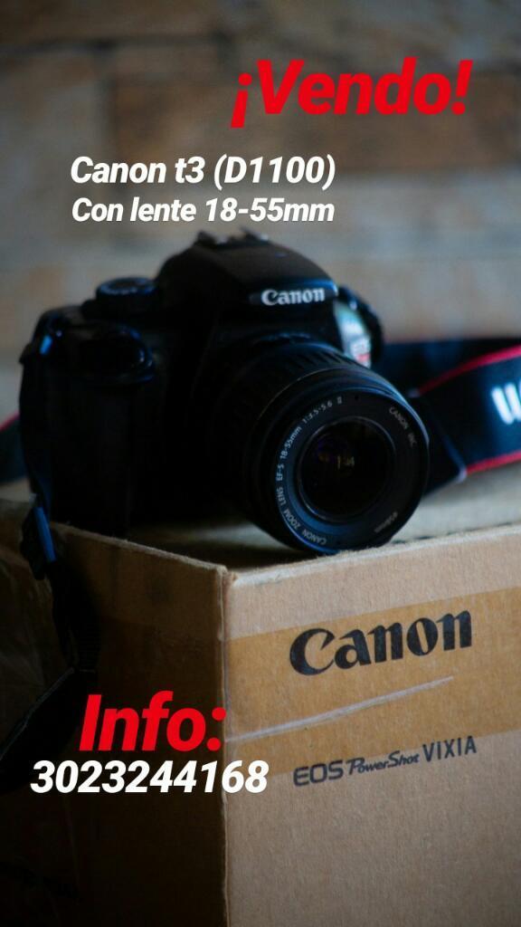 Camara Profesional Canon T3 D
