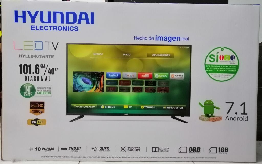 Smart Tv Hyundai 40 Fhd