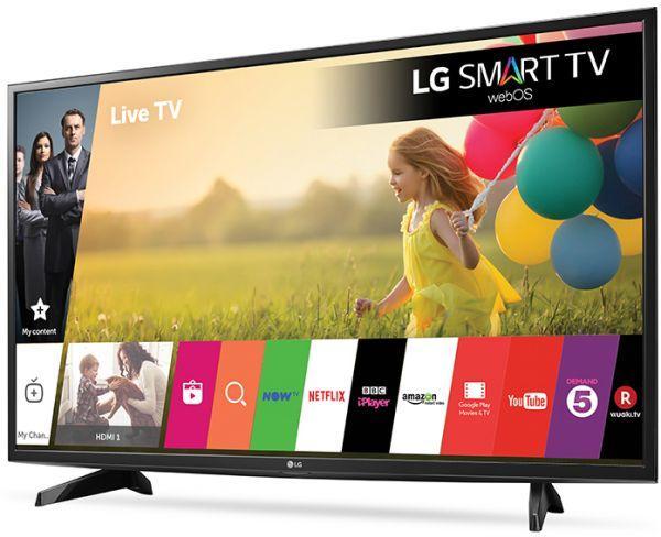 TELEVISOR LG 43LK FULL HD SMART TV MODELO