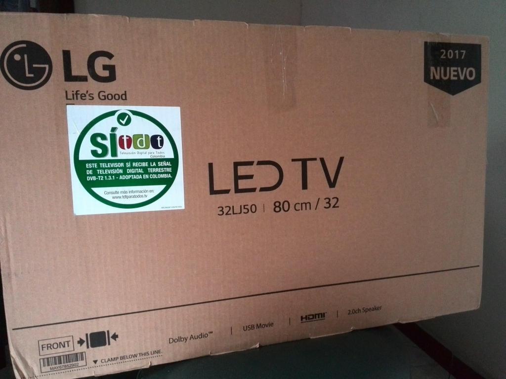 TV LED LG 32 PULGADAS NO SE HA USADO