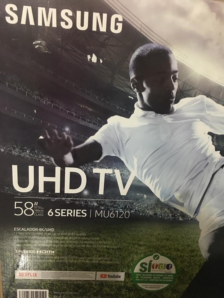Televisor Samsung Uhd Tv 58 Pulgadas