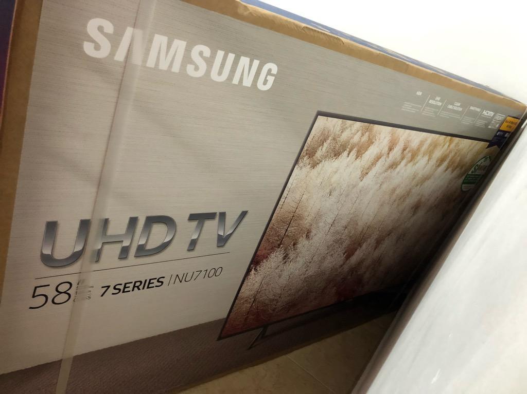 """Tv Samsung 58"""" Pulgadas - 4K Y Hd Nuevo"""