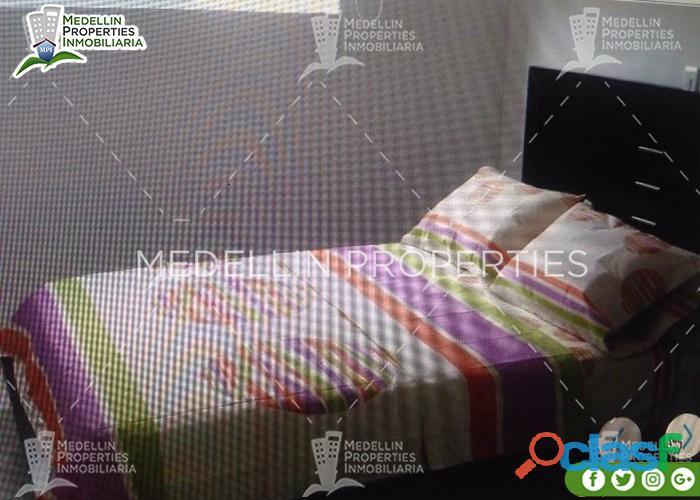 Barato Arriendo de Apartamentos Amoblados Medellín Cód: