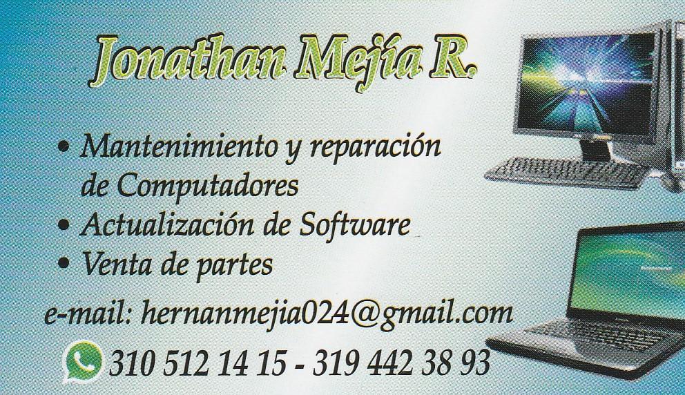 Mantenimiento y Reparacion de computadores.