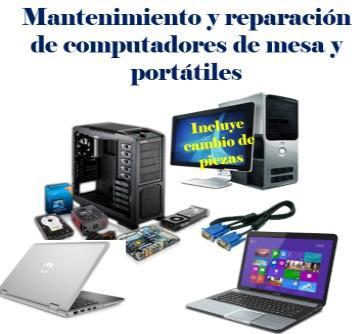 Mantenimiento y reparación de computadores e impresoras en