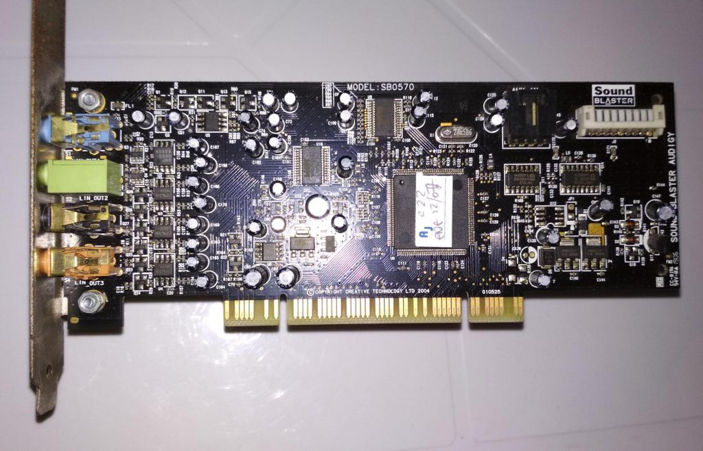 Tarjeta Sonido Sound Blaster Audigy SE 5.1