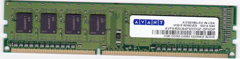 memoria ram ddr3 2gb mhz