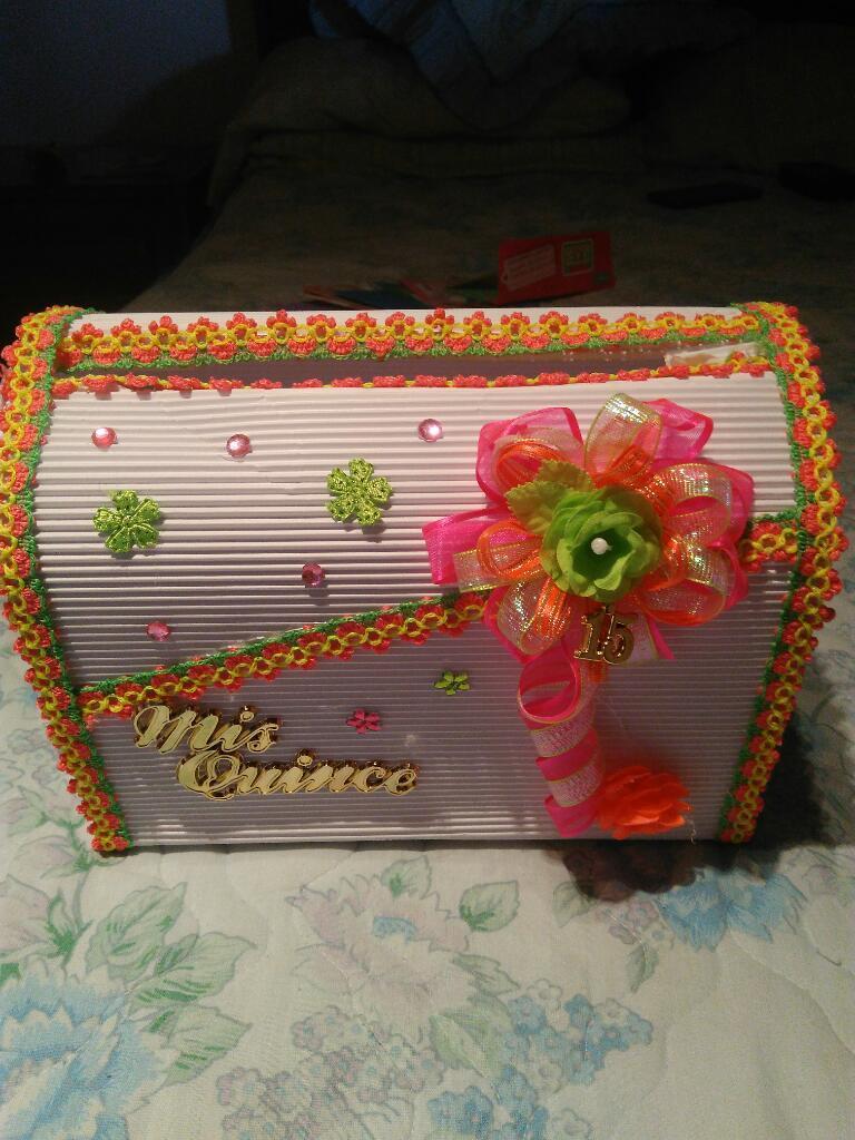 Caja para 15 Años