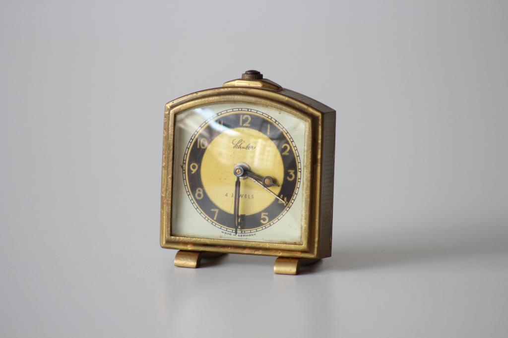 Reloj de Cuerda Alemán Marca Schuler