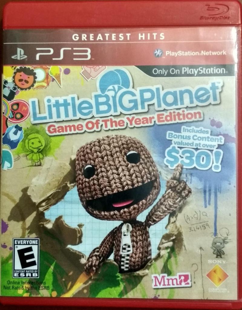 Juego Little Big Planet PS3 versión juego del año perfecto