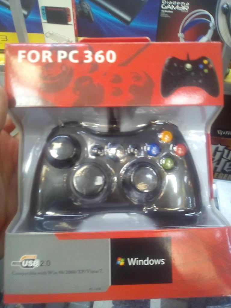 MANDO 360 PARA PC Y PARA XBOX cableado nuevo