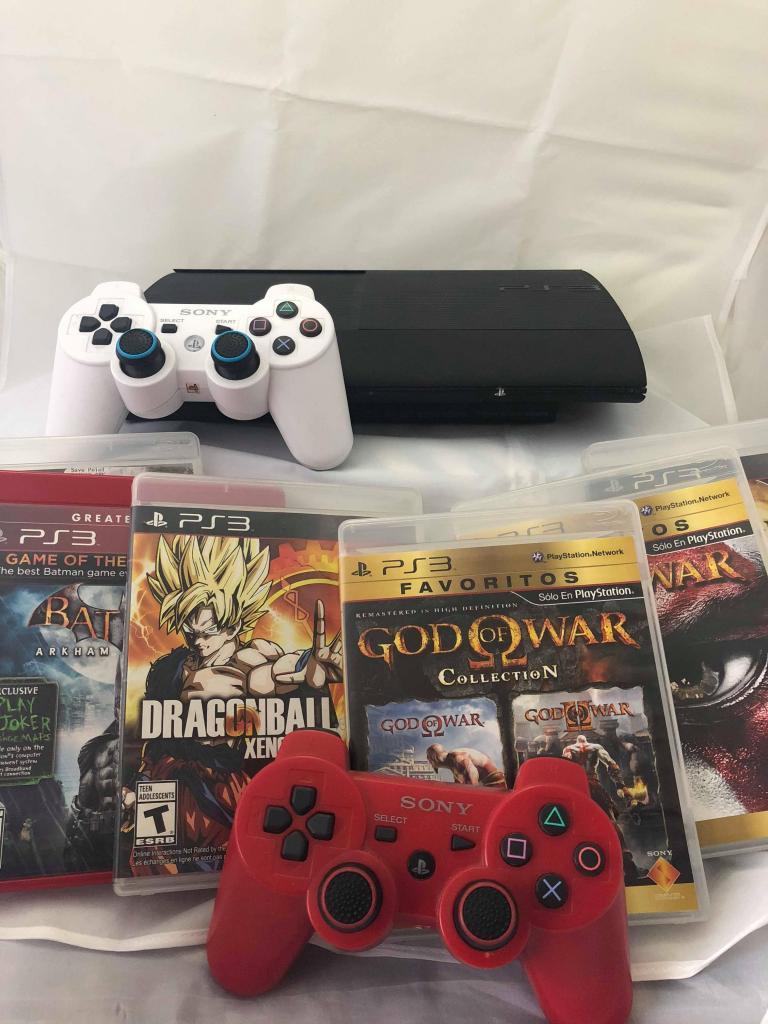 PlayStation 3 Slim 250GB | PS3 | JUEGOS POR SEPARADO