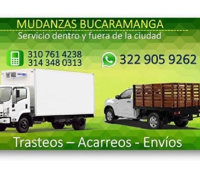 MUDANZAS BUCARAMANGA... SERVICIO URBANO Y POR COLOMBIA