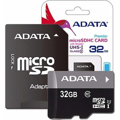 Memoria Micro Sd 32gb Clase10 Adata Al Por Mayor