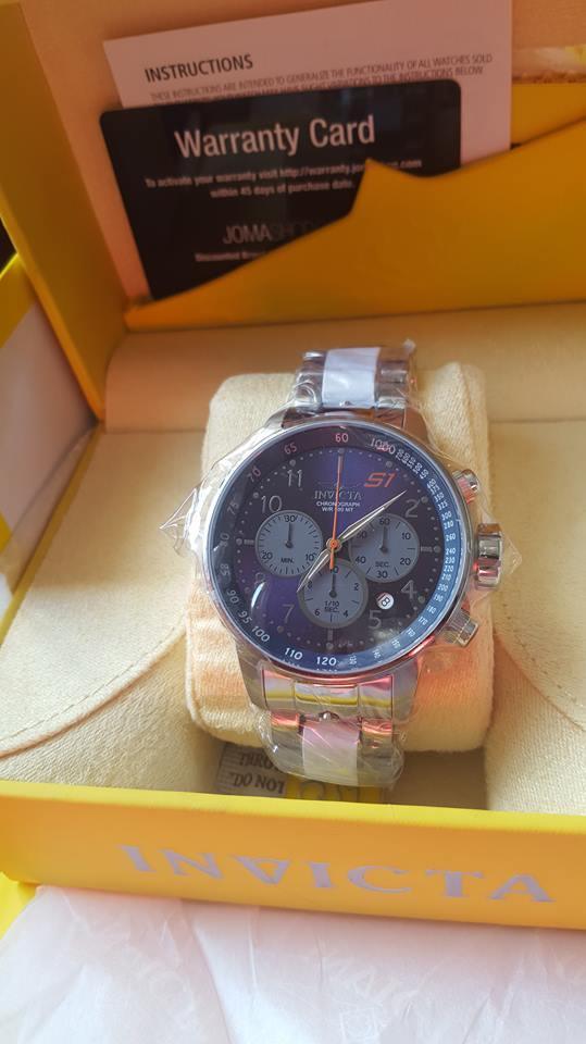 Reloj Cronografo Invicta  S1 Rally Original Nuevo