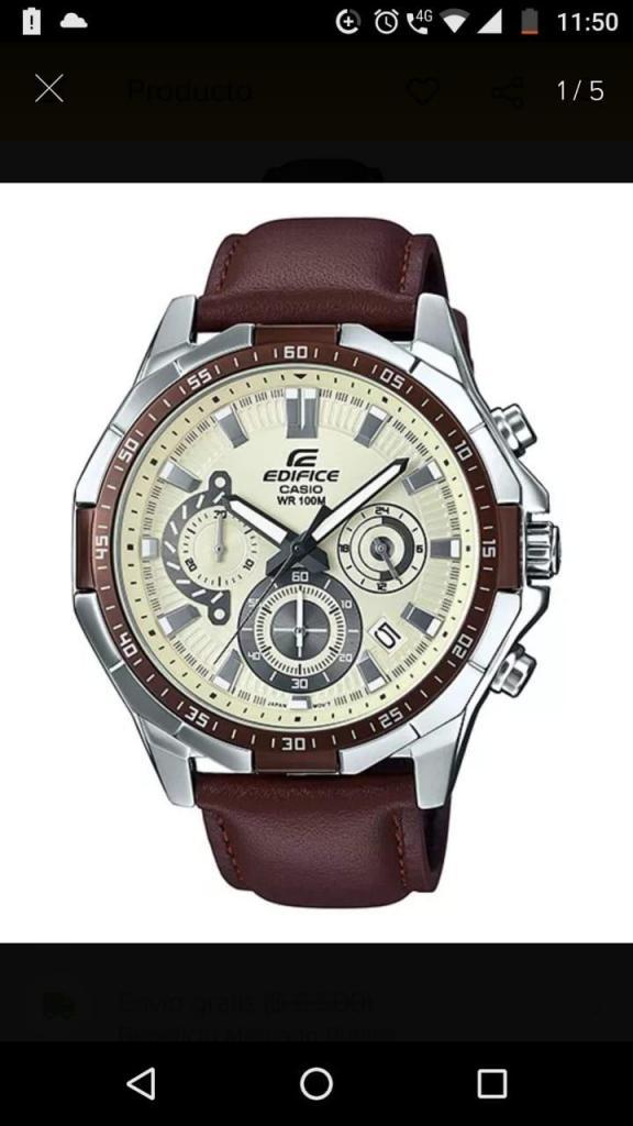 Vendo Reloj Casio Edifice 554l