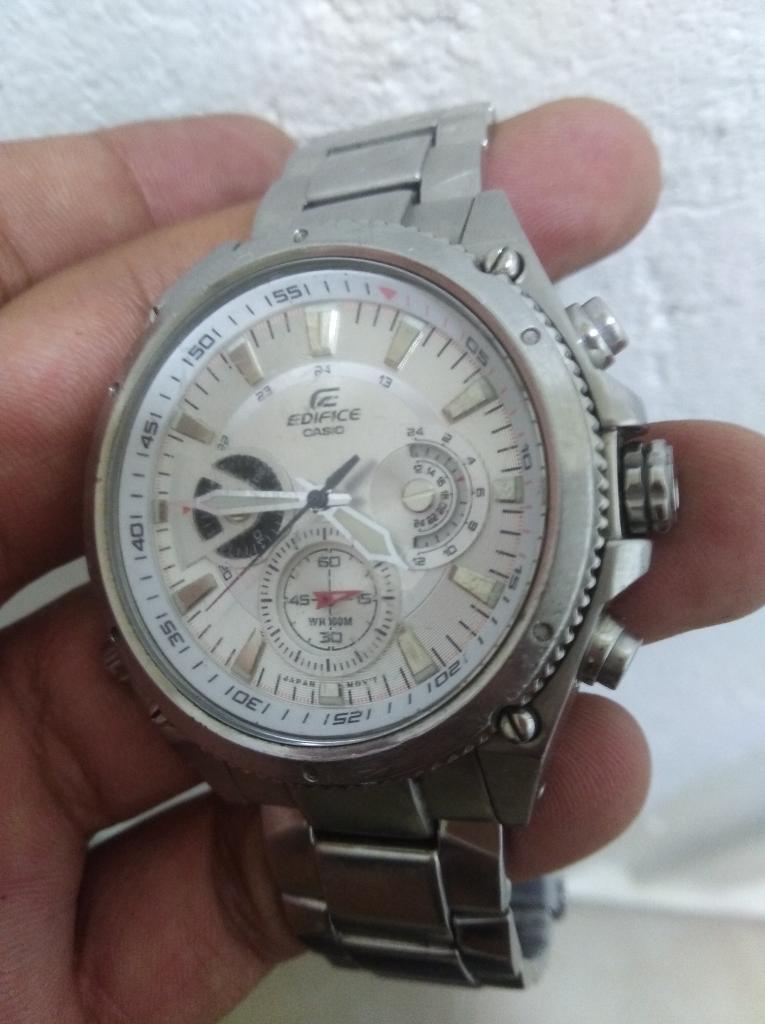 Vendo Reloj Casio Ef 536 Buen Estado