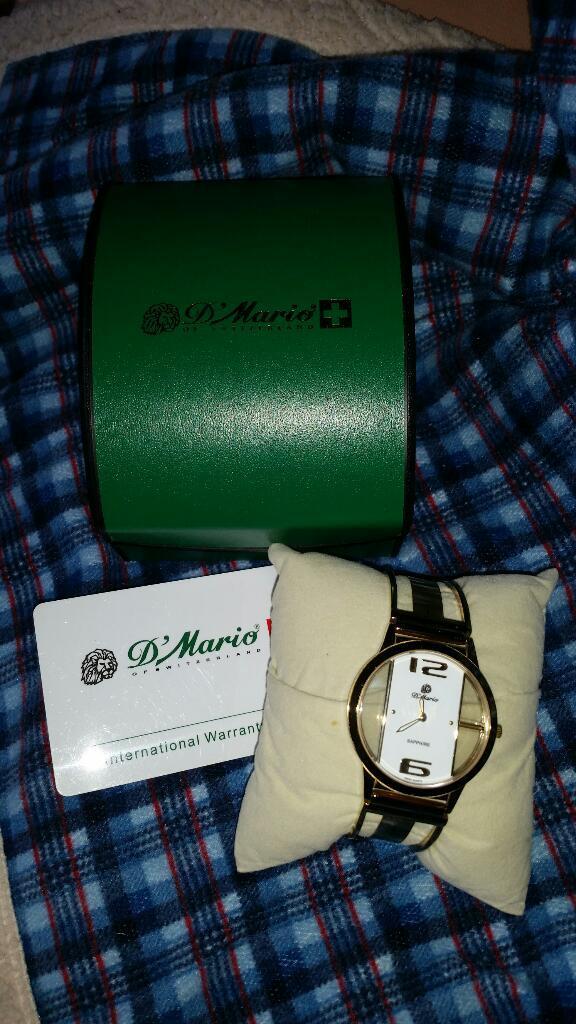 Vendo Reloj Dimario Original para Hombre