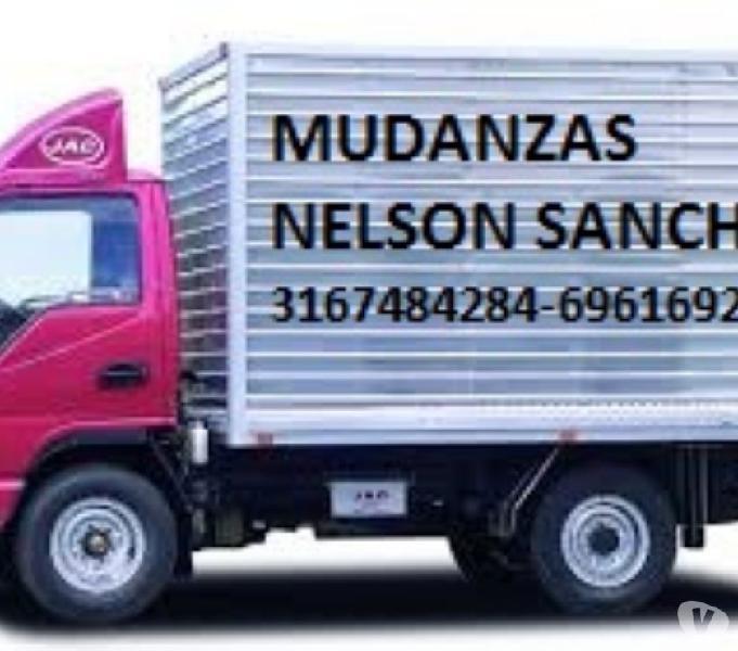 CARGA Y MUDANZAS NELSON SANCHEZ., 3167484284