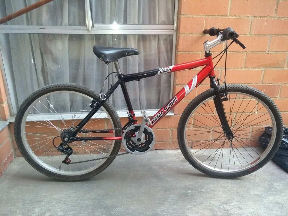 Vendo Genial bicicleta todo terreno Rin 26 excelente estado