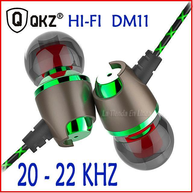Audifonos Profesionales Manos Libres Qkzdm11 Hifi  Khz