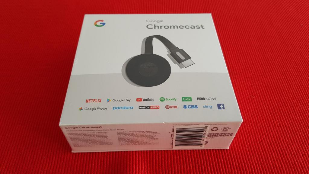 Google Chromecast 2, Nuevo, sellado, Netflix Youtube