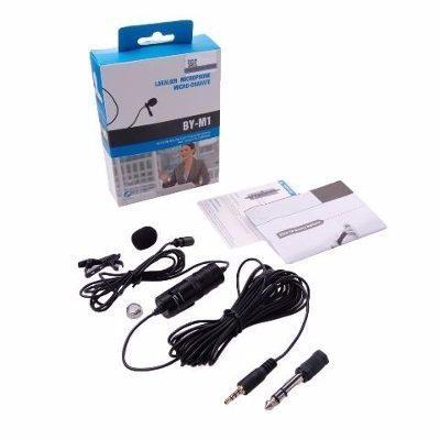 Microfono De Solapa Boya Bym1 Para Dslr camara profesional