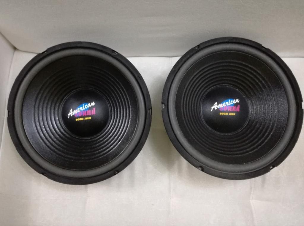 Parlantes De 12 American Sound 260 Watts Spw