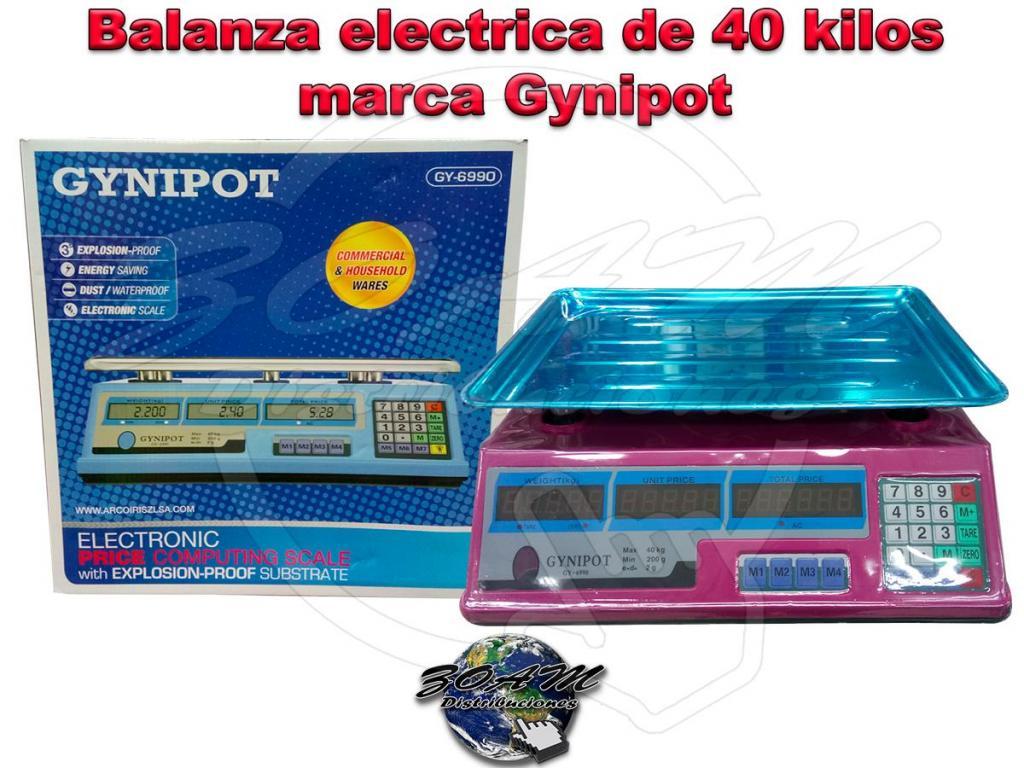 Balanza Gramera Electrica Digital de 40 kilos marca Gynipot
