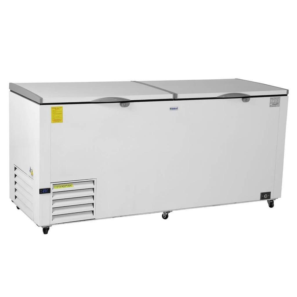 Congelador horizontal en lamina galvanizada de puerta