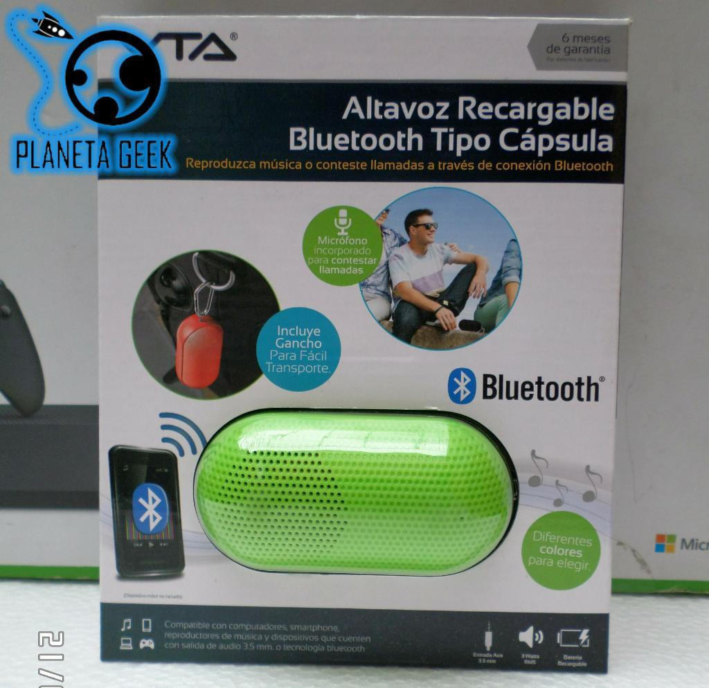 Altavoz Recargable Bluetooth